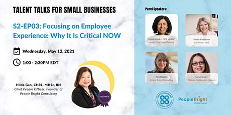 Focusing on Employee Experience: Why It Is Critical NOW tickets