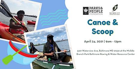 Canoe & Scoop tickets