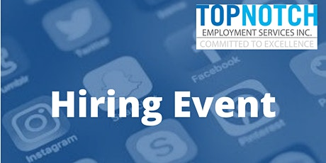 Virtual Job Fair - Work From Home Opportunities -  St.Catharines tickets