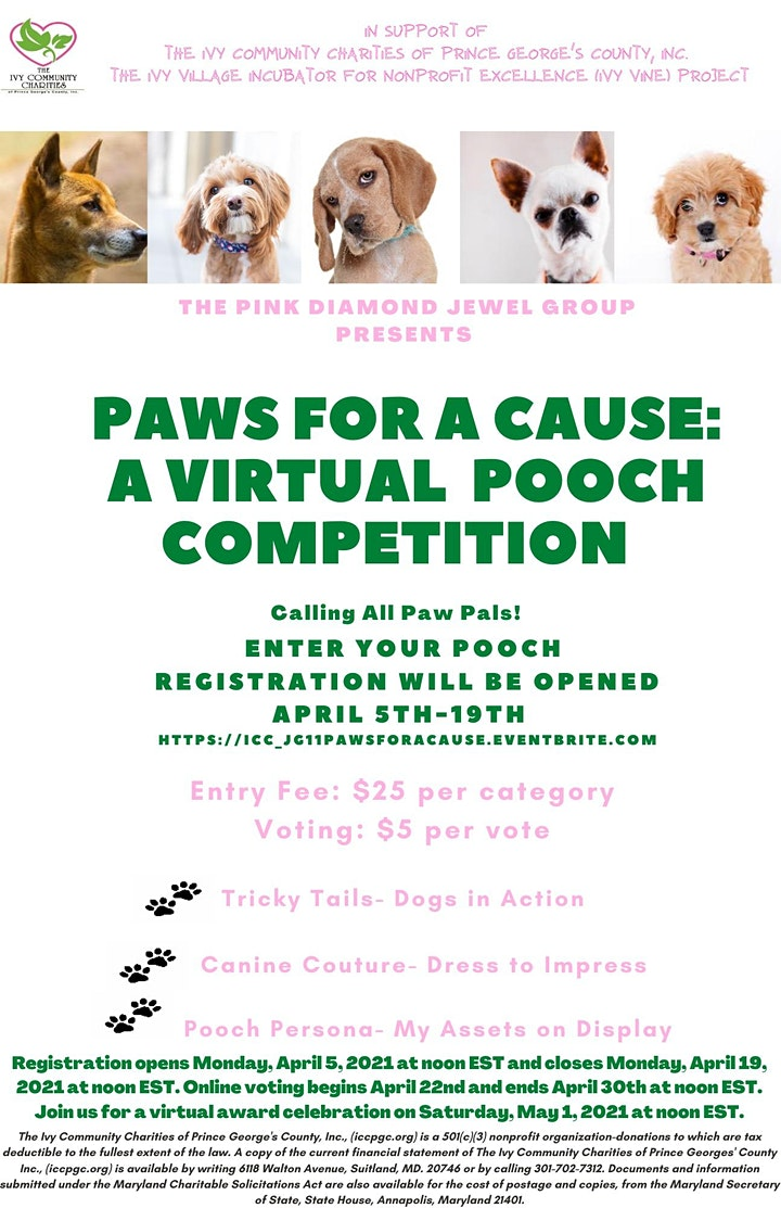 Paws for a Cause: A Virtual Pooch Competition image