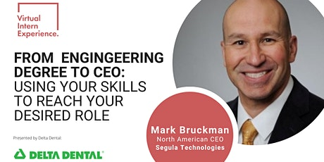 FROM ENGINEERING DEGREE TO CEO: USE YOUR SKILLS TO REACH YOUR DESIRED ROLE tickets