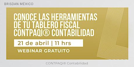 Tablero Fiscal CONTPAQi® Contabilidad boletos