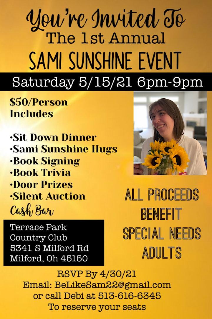 Sami Sunshine Scholarship Event image