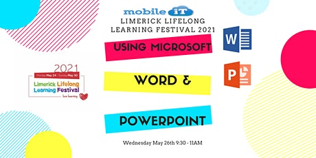 Using Microsoft Word & PowerPoint tickets