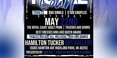 The Royal Court Adult Prom tickets