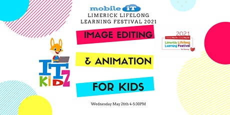Image Editing & Animation for Kids tickets