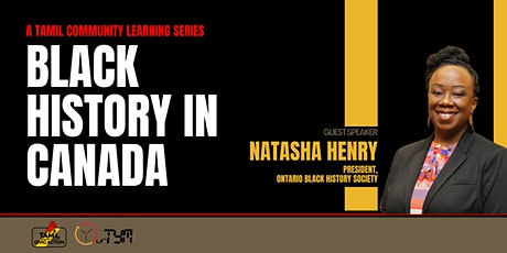 Black History in Canada tickets