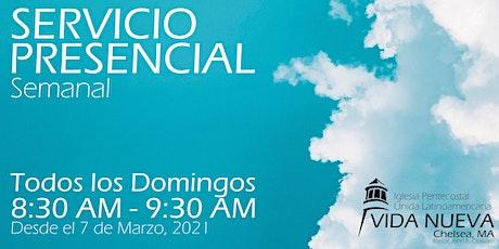 Servicio Presencial Semanal tickets