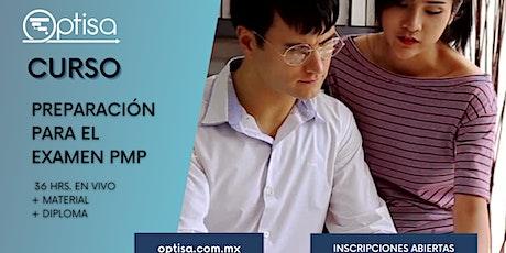 Curso para la preparación para el examen PMP billets