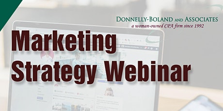 DBU Webinar Marketing Strategy tickets