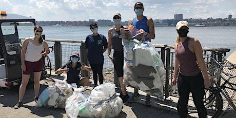 Manhattan: Hudson River shoreline cleanup from Hudson River Park tickets