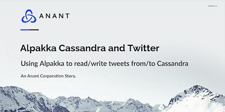 Apache Cassandra Lunch #45: Alpakka Cassandra and Twitter tickets