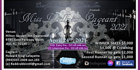 2021 Miss Wellness Pageant tickets