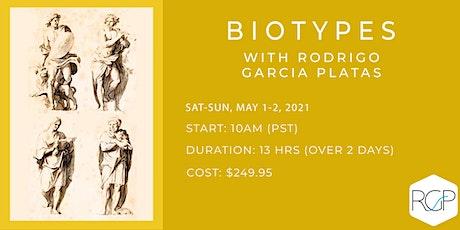 Introduction to BioTypes with Rodrigo Garcia Platas tickets