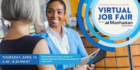 Virtual Job Fair Sponsored by Manhattan Associates tickets