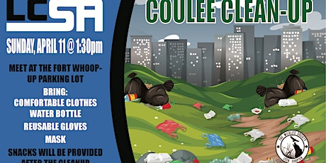 Coulee Clean UP tickets