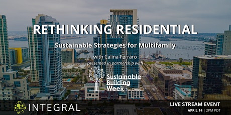 Rethinking Residential: Sustainable Strategies for Multifamily tickets