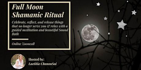 Full Moon Shamanic Ritual tickets