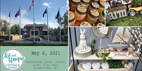 Vintage & Handmade Spring Market In Brownstown (4th Annual) Chic & Unique tickets