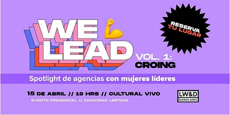 We lead by Ladies, Wine and Design Buenos Aires entradas