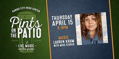 Pints on the Patio: Lauren Krum with Mike Stover tickets