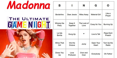 Madonna Ultimate Game Night tickets