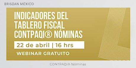 Tablero fiscal  CONTPAQi® Nóminas boletos