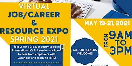 LATTC Virtual Job/Career & Resource Expo 2021 entradas