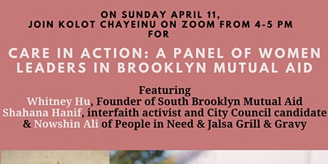 Care in Action: A Panel of Women Leaders in Brooklyn Mutual Aid tickets