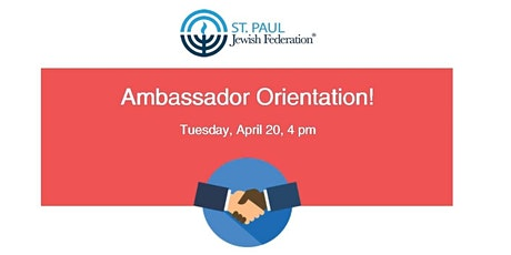 Ambassador Orientation tickets
