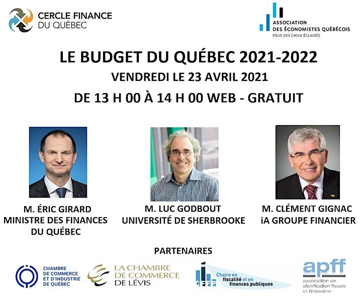 Image de M. ERIC GIRARD - LE BUDGET DU QUÉBEC 2021-2022 (23 AVRIL 13H00)