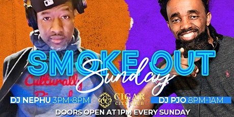 Smoke Out Sunday: Live Entertainment All Day, Brunch, and Cigars. tickets