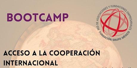 Bootcamp para acceder a la Cooperación Internacional boletos