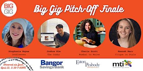Virtual Big Gig Entrepreneur Pitch-Off (Finale) tickets