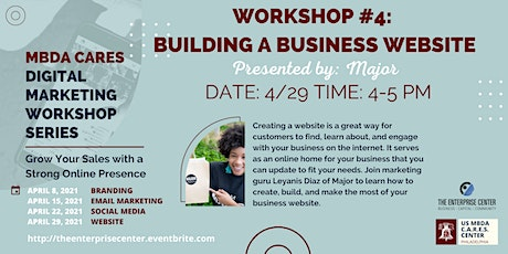 Digital Marketing Workshop #4: Building a Business Website tickets