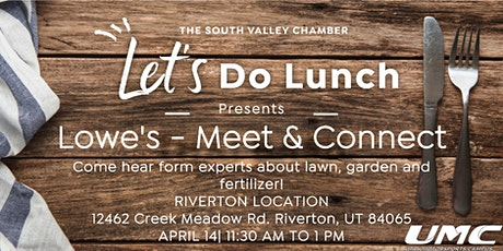 Lets Do Lunch- Meet and Connect tickets