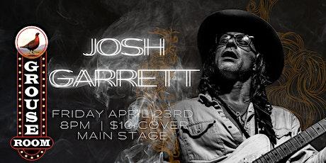 JOSH GARRETT BAND tickets