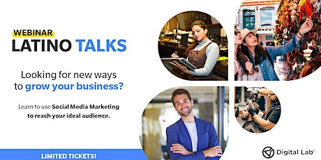 Latino Talks - Grow online your Latino-niche Business tickets