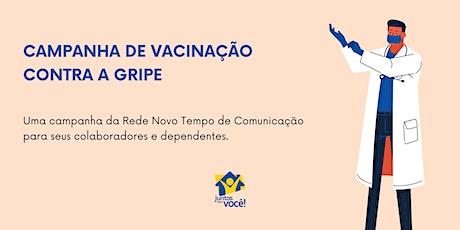 Campanha de vacinação contra a Gripe 2021 ingressos
