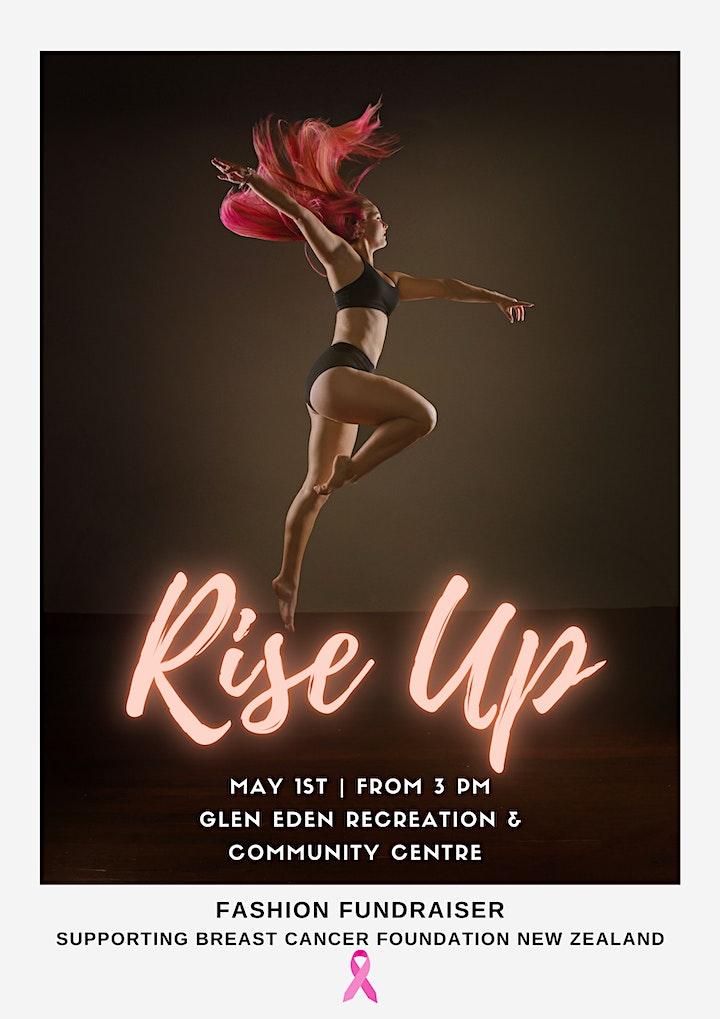 Rise up - High tea & Fashion fundraiser image