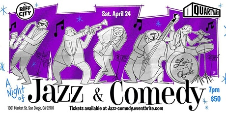 Comedy & Jazz @Quartyard Downtown tickets