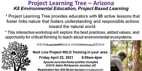 Project Learning Tree Live Training tickets