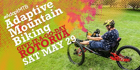 Adaptive Mountain Biking Give-it-a-go-day tickets