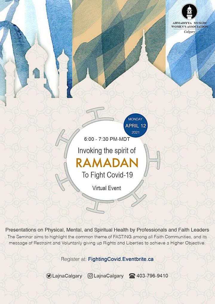 Invoking the Spirit of Ramadan to Fight Covid-19 image