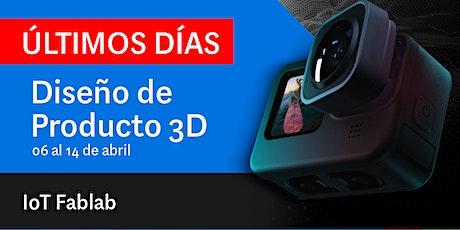 Diseño de producto 3D + Box entradas