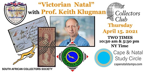 Victorian Natal with Dr. Keith P Klugman FRPSL - TWO Times 5:30 pm ET tickets