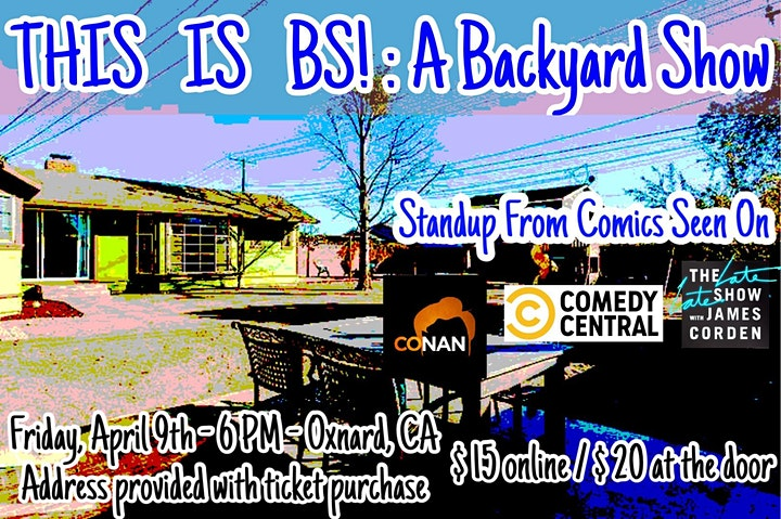 THIS IS BS! : A Backyard Show image