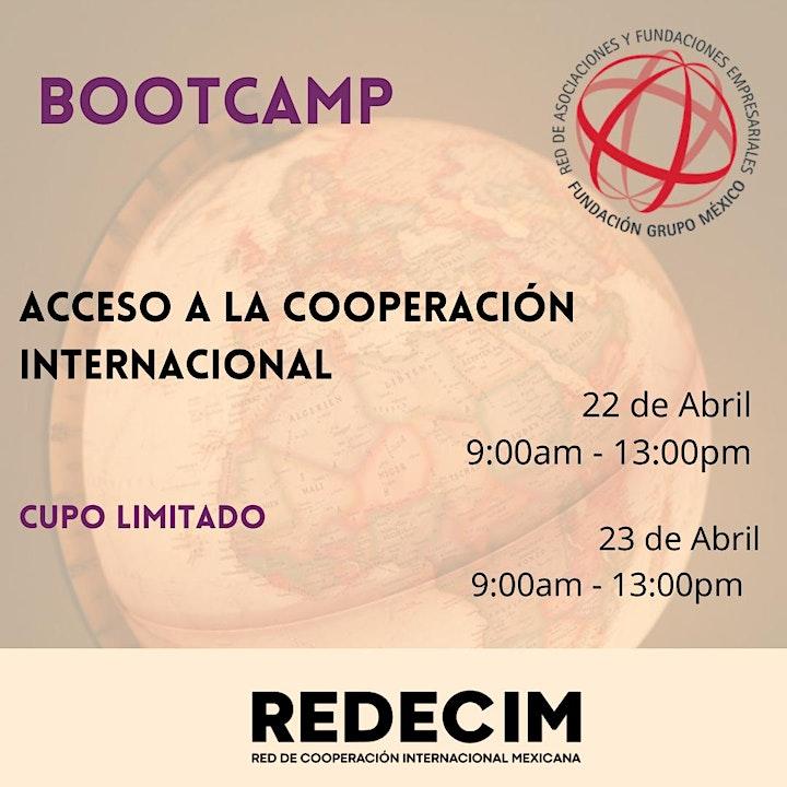Imagen de Bootcamp para acceder a la Cooperación Internacional