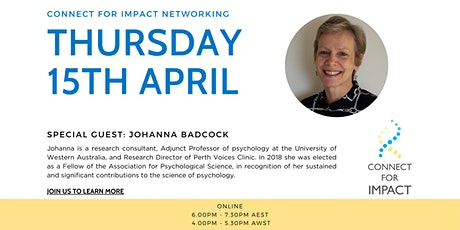 Connect for impact networking tickets