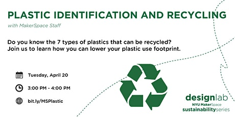 Plastic Identification and Recycling tickets
